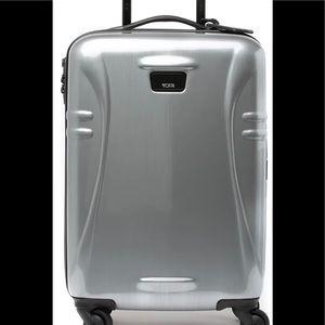 "Tumi International 21"" Carry-On Silver"